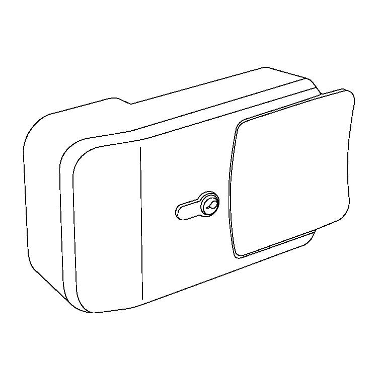 Chiusure Serie 7000 Inox wireframe